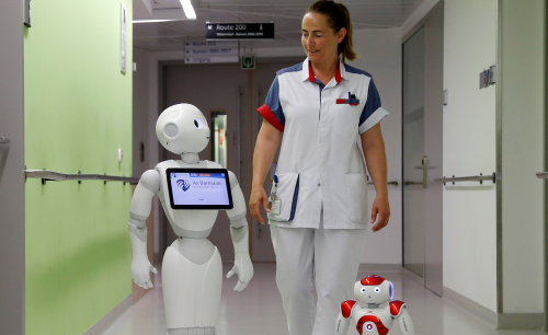 robot-hopital innovationesante.fr